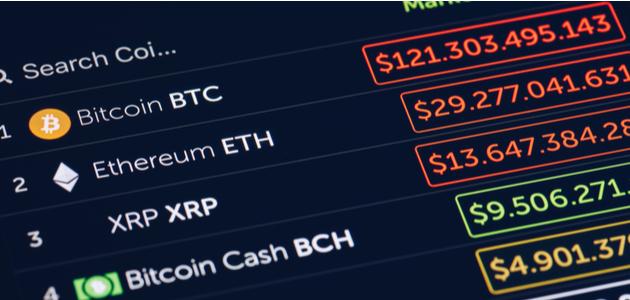 اسعار العملات الرقميه اليوم